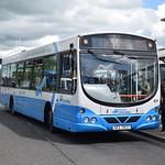 Translink Ulsterbus Scania Wright Solar GEX7837 837 at Belfast International Airport on the 109A to Lisburn.